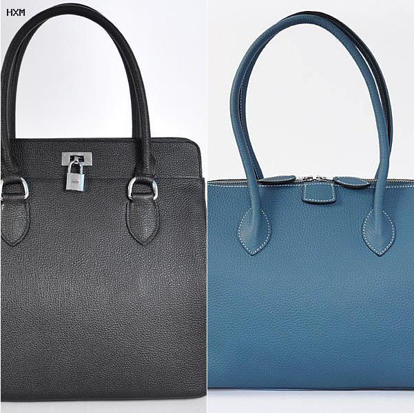 sac evelyne hermes bleu